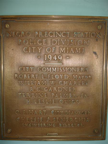 Black Precinct Original Plaque