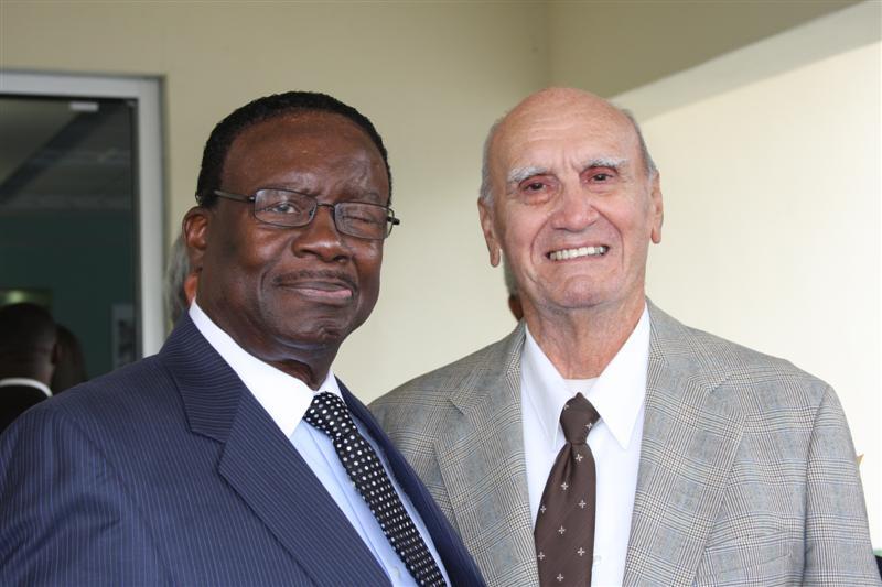 Otis Davis and George Haller