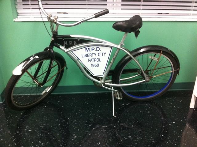 Black Precinct Bicycle