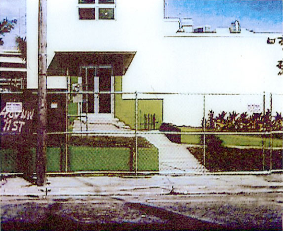 New Precinct Front View