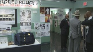 Museum honors first black police officers